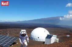 Des scientifiques de la mission HI-SEAS IV sont sortis de leur dôme à Hawaï…