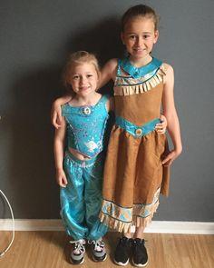 My beautiful girls ready for their Zumba-thon fund raising event at school ��❤️�� #Zumba #zumbathon #daughters #fancydress #fundraising #disney #jasmine #pocahontas http://misstagram.com/ipost/1551380858840393534/?code=BWHnKvqhac-