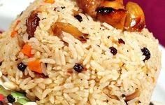 Kestaneli Pilav (6 Kişilik) tarifi Turkish Recipes, Food Art, Rice, Yummy Food, Cooking, Ottoman, Foods, Jewellery, Embroidery