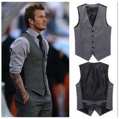Beckham Casual gilet grigio