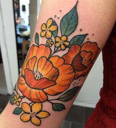 of today! love doing nature tattoos! , My Styles, Pretty Tattoos, Cute Tattoos, Beautiful Tattoos, Body Art Tattoos, Small Tattoos, Tattoo Ink, Leg Tattoos, Arm Tattoo, Mandala Tattoo Sleeve