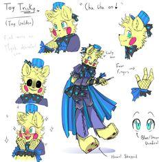 Caracteristicas de toy golden freddy