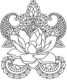Painted Lotus_image