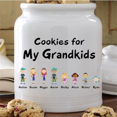 do you have fond memories of baking cookies with your grandmother or at least of