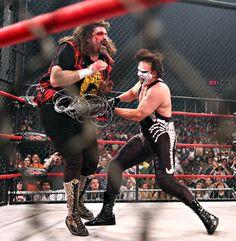 Sting vs Cactus Jack - Lockdown 2009
