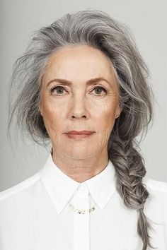 Salt and pepper gray hair. Granny hair don… – White Hair Grey Hair Old, Long Gray Hair, Silver Grey Hair, Grey Hair Natural, Going Gray Gracefully, Aging Gracefully, Grey Hair Inspiration, Character Inspiration, Beautiful Old Woman