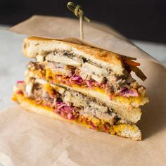 Pork Belly Panini from @theluckyfig   Tag a friend who would love this & tag us in your #foodtruck photos or use #hirefoodtrucks to get featured!