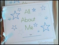 Printable All About Me Books
