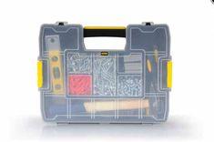 Κασετίνα Εργαλείων πλαστική με 14 θήκες προσαρμοζόμενες. Ιδανική για μικρά αντικείμενα όπως βίδες, παξιμάδια κοκ, αλλά και για κουμπιά, βελόνες και γενικότερα είδη σπιτιού. #ταμπακιέρες εργαλείων #κασετίνα_εργαλειων #οργανωση_σπιτιου Tool Box Storage, Tool Organization, Diy Tools, Hand Tools, Home And Garden, Ebay