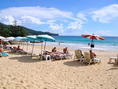 The island of Phuket has some of the most famous, fantastic beaches in Thailand. Although lush forests and mountains cover the majority of Phuket island, the most popular attraction is the many beaches where visitors go to snorkel, dive, party, and just soak up the Thai sun.