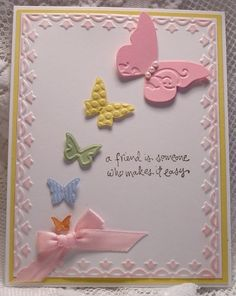 "I like this card, but without a watermark it is hard to give credit to where it is due...when I found it on Pinterest ""SU"" was the only note in the description and the link points to a Bing search: ""stampin up caard [sic] ideas""; go check it out, http://www.bing.com/images/search?q=stampin+up+caard+ideas=151=IDFRIR, some great ideas from that search"