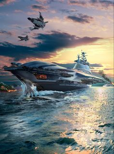 ArtStation - Electronic Battleship, Dave Seeley