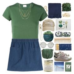 """""""surprise of the morning sun"""" by akp123 ❤ liked on Polyvore featuring RE/DONE, A.P.C., Campania International, Vera Bradley, Topshop, Jayson Home, Tom Binns, The Body Shop, Torrid and adidas"""