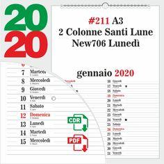 Calendario 2020 Editabile.Peppe Cau Peppecau Su Pinterest