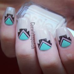 Aztec Nails  @coewless