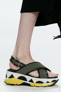 Spring 2015 Ready-to-Wear - Marni----I would love these with light purple instead of yellow