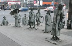 The Anonymous Passers-by in Wroclaw, Poland