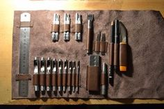 Picture of Leather Tool Roll
