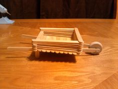 Wheelbarrow Complex Machine easy school craft for science (fill with candy!)