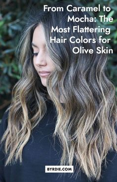 From Caramel to Mocha: The Most Flattering Hair Colors for Olive Skin Olive Skin Blonde Hair, Haircolor For Olive Skin, Balayage Hair Brunette With Blonde, Hair Color For Tan Skin Tone, Summer Hair Color For Brunettes, Highlights For Dark Brown Hair, Hair Highlights, Pretty Hair Color, Hair Colors