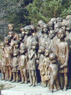 In May 1942 the German protector… Invasion Of Poland, Prague Travel, Holocaust Memorial, Cemetery Art, Second World, Sculpture, Women In History, Czech Republic, World War Ii