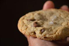 Gluten-Free Milk Chocolate Cookies with Sea Salt | Cheesy Pennies