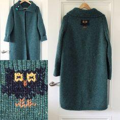 Купить Пальто The Elf Legend - кардиган вязаный, кардиган, вязаное пальто, лопи