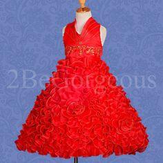 Wedding Flower Girl Bridesmaid Dresses Party Birthday Occasion Age 2 10 yrs 148 | eBay