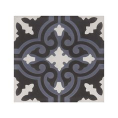 Marockanskt Kakel Nada Blue är en blå, svart och vit, handgjord cementplatta som ingår i vårt egentillverkade sortiment. Kan användas inomhus eller utomhus.