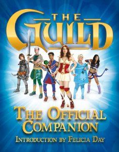 The Guild: The Official Companion is out!  All the cast were interviewed, producer Kim Evey, director Sean Becker, tons more! If you're a fan of the show, a gamer or make web series, definitely check it out.