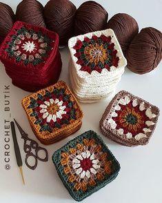 Transcendent Crochet a Solid Granny Square Ideas. Inconceivable Crochet a Solid Granny Square Ideas. Crochet Squares, Granny Square Crochet Pattern, Crochet Blocks, Crochet Motif, Knit Crochet, Granny Squares, Crochet Bunny, Free Crochet, Crochet Puff Flower