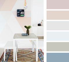 3 секрета нежного цвета: пастельные оттенки в интерьере | Sweet home