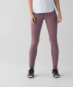 These high-rise run tights were designed to be our ultimate winter running companion. We like to wear them on their own or layered under shorts when it's really cold out. Super-soft, sweat-wicking Rulu™ fabric keeps us covered and cozy when the temptation to stay indoors grows. See you on the streets!