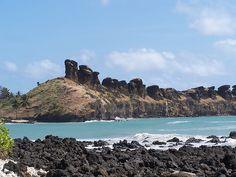 Comoros rock formations