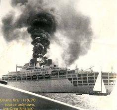 Oriana and Aurora Carnival Corporation, Ship Breaking, P&o Cruises, Merchant Marine, Naval History, Old Trains, Model Train Layouts, Shipwreck, Water Crafts