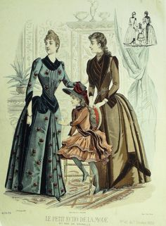 Le Petit Echo de la Mode 1888
