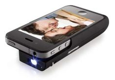 Aiptek MobileCinema i15. 15 Lumens projector cum battery pack for the iPhone #iphone S$399