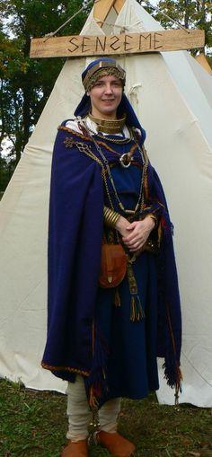 Ancient Semigallian woman circa 11th-12th century.