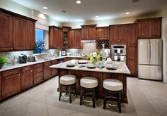 Toll Brothers - Moreda Kitchen with Spacious Island