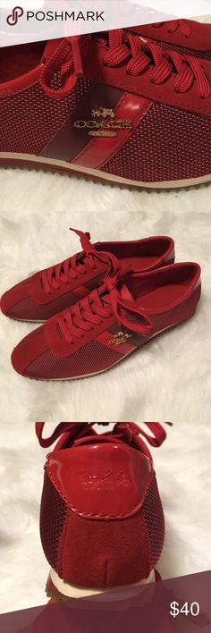 ♥️♥️Coach shoes 6♥️♥️ Suede and patent leather details,size 6, brand new but no box Coach Shoes