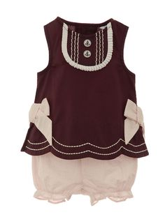 Hartstrings Girls Woven Top & Short Set. So cute!