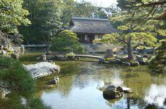 Katsura imperial villa, Kyoto 桂離宮