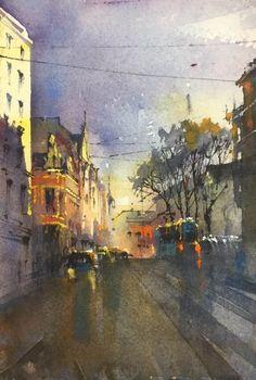 Bad Painting, Helsinki, Art School, Australia, Watercolor, Portrait, Artist, Easy, Landscapes