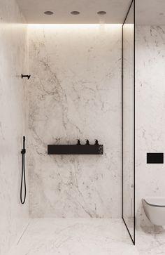 Alina Aleinikova on Behance Bathroom Goals, Small Bathroom, Master Bathroom, Mesa Home Office, Bathroom Design Inspiration, Bathroom Toilets, Bathrooms, Toilet Design, Bathroom Design Luxury