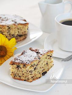Ciasto z ajerkoniakiem i czekoladą #przepis #najsmaczniejsze #ciasto #czekolada #ajerkoniak #likier #cake #food