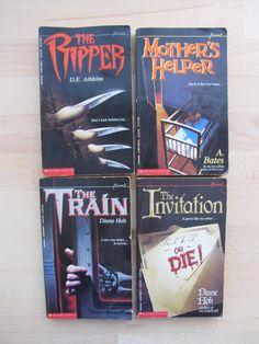Set of 4 Point Horror Teen Books The Ripper D E by honeyandbear