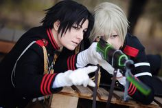 Guren and Shinya by kayleighloire on DeviantArt