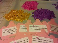 Invitación corona de princesas !!   Souvenirs Ma Cristina