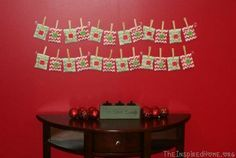 Do It Yourself Advent Calendar #Christmas #do it yourself #diy| http://famous-quotes-5030.blogspot.com