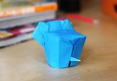 Little origami elephant   How About Orange
